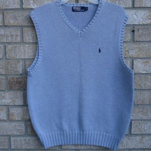 SIZE M.Polo by Ralph Lauren sleeveless sweater ves